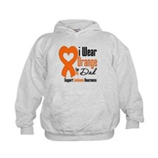 Leukemia Dad Hoodie