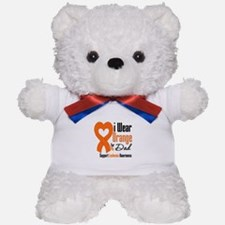 Leukemia Dad Teddy Bear