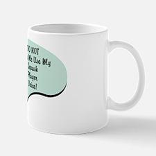 Squash Player Voice Mug