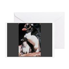 Daddy Penguin Greeting Card