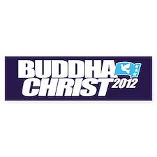 Vote Buddha Christ Mayan 2012 Peace Bumper Bumper Sticker