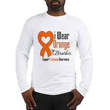 Leukemia Brother Long Sleeve T-Shirt
