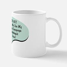 Speech Language Pathologist Voice Mug