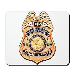 Refuge Officer Mousepad