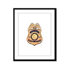 Refuge Officer Framed Panel Print