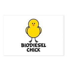 Biodiesel Chick Postcards (Package of 8)