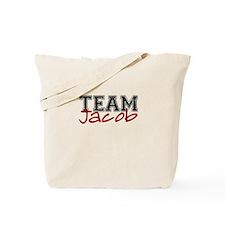 Funny Twilight team jacob Tote Bag