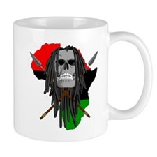 Warrior Skull Mug