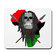 Warrior Skull Mousepad