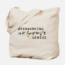Woodworking Genius Tote Bag