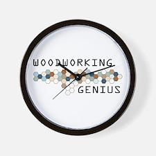 Woodworking Genius Wall Clock