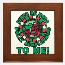 Feliz Cumpleanos 5 May to Me Framed Tile
