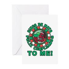 Feliz Cumpleanos 5 May t Greeting Cards (Pk of 10)