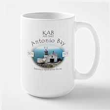 KAB Radio Antonio Bay Large Mug