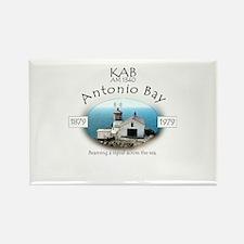 KAB Radio Antonio Bay Rectangle Magnet