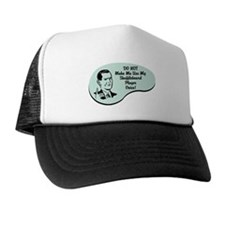 Shuffleboard Player Voice Hat