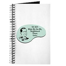 Shuffleboard Player Voice Journal