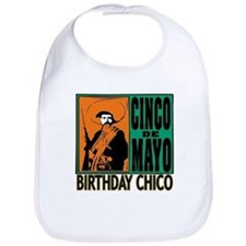 Cinco de Mayo Birthday Chico Bib