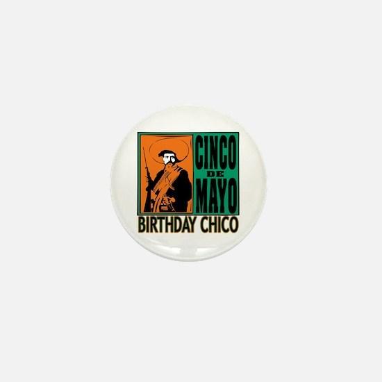 Cinco de Mayo Birthday Chico Mini Button