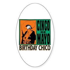 Cinco de Mayo Birthday Chico Decal