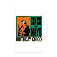 Cinco de Mayo Birthday Chico Decal