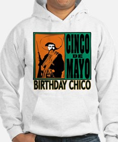 Cinco de Mayo Birthday Chico Hoodie