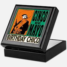 Cinco de Mayo Birthday Chico Keepsake Box