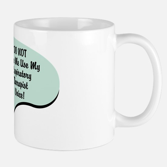 Respiratory Therapist Voice Mug