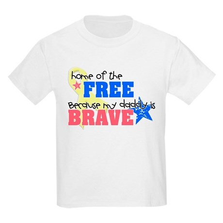 home of the free daddy T-Shirt