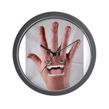 Cute Hands Wall Clock