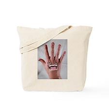 Unique Grinning Tote Bag