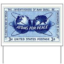 Cute Vintage peace Yard Sign