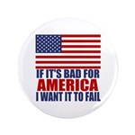 "I want it to fail 3.5"" Button (100 pack)"