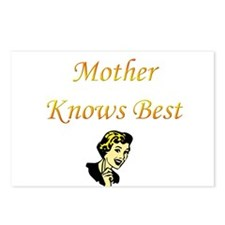 Mother Knows Best Postcards (Package of 8)