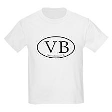 VB Vanderbilt Beach Oval T-Shirt