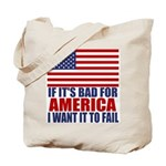 I want it to fail Tote Bag