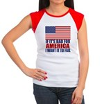 I want it to fail Women's Cap Sleeve T-Shirt