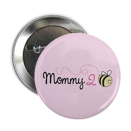 """Mommy To Bee 2.25"""" Button (10 pack)"""