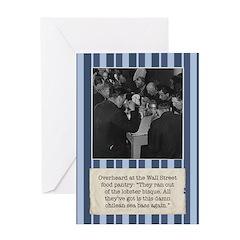 Wall Street Food Pantry Birthday Card