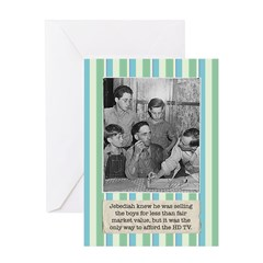 Selling the Kids Birthday Card