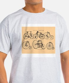 19th-century bicycles T-Shirt