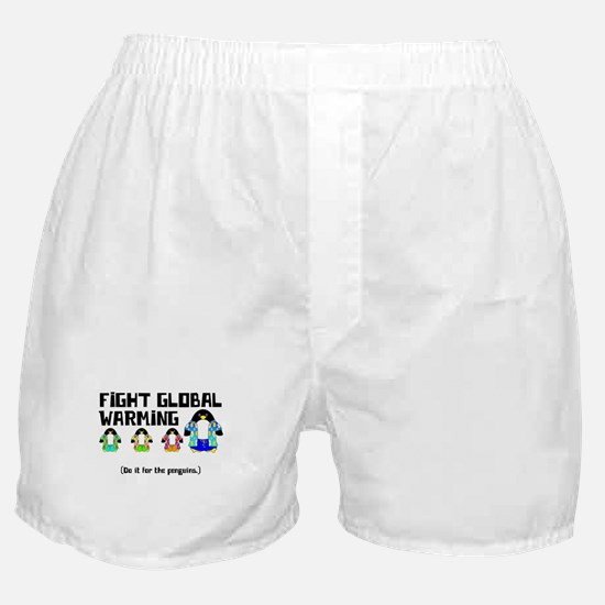Do It For The Penguins Boxer Shorts