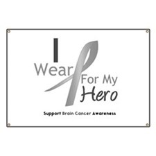 Gray Ribbon Hero Banner