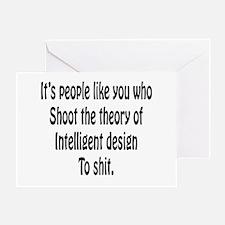 Intelligent Design Greeting Card