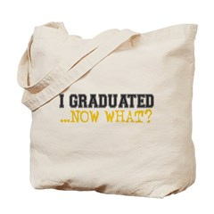 Graduated, Now What? Tote Bag
