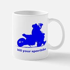 yamaha blue kill your sportbi Mug