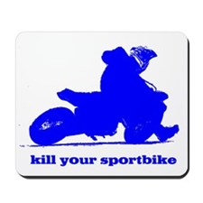 yamaha blue kill your sportbi Mousepad