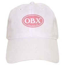OBX Pink Outer Banks Baseball Cap
