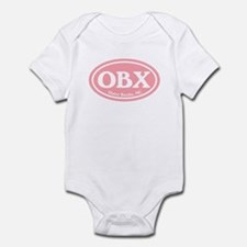 OBX Pink Outer Banks Infant Bodysuit