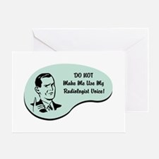 Radiologist Voice Greeting Card